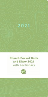 Church Pocket Book and Diary 2021 Green Earth