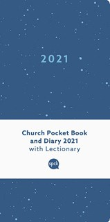 Church Pocket Book and Diary 2021 Blue Sea