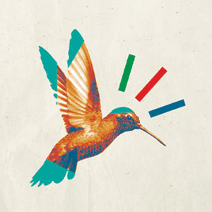 The Gift of Wonder - graphic of colorful hummingbird